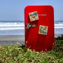 Natural sand fridge magnet - Bali Series