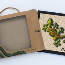 Natural sand Mini Art Wall decoration with gift box